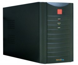 POWERFUL - POWERFUL PL-1500 1500A KGK AVR 5-12 dk SİYAH