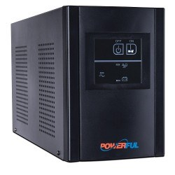 POWERFUL - POWERFUL PL-2000 2000A KGK AVR 5-12 dk SİYAH