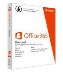 MICROSOFT - MS Office 365 Personal 1 year subscription English/Medialess